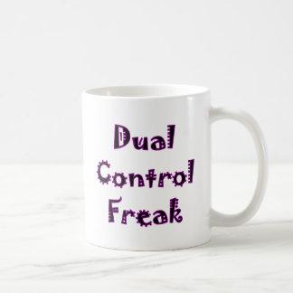 Dual Control Freak Coffee Mug