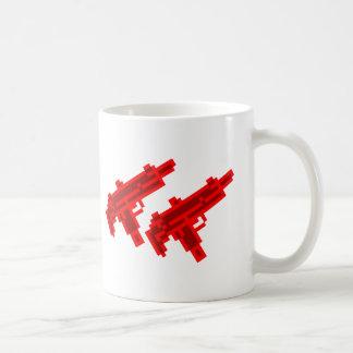 Dual Gunner Basic White Mug