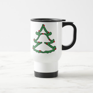 Dual Holiday Tree Travel Mug