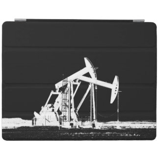 Dual Oil Pumping (pump jack) Units iPad Cover