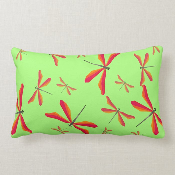 Dual side dragonfly Cushion