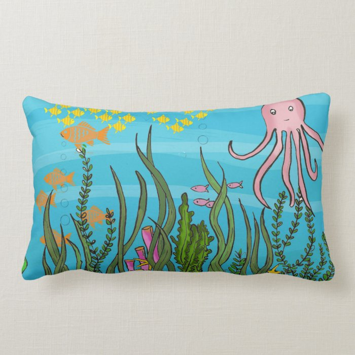 Dual side Underwater design cushions