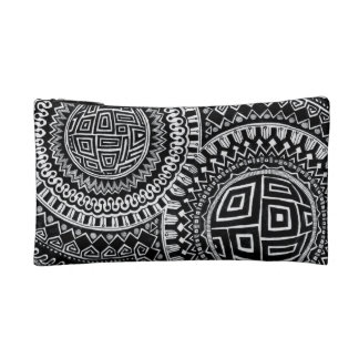 Dual-Sided Graphic Orbs/Tiles small make-up bag Makeup Bag