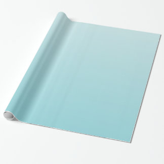 Dual Tone Light Blue Wrapping Paper