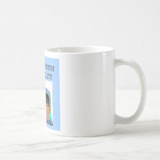 duality new age joke basic white mug