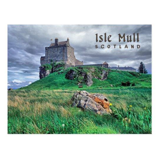 Duart castle postcard