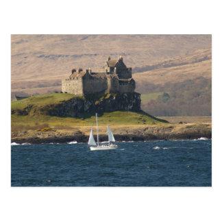Duart Castle Scotland Postcard