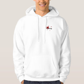 dub blood splatter hoodie