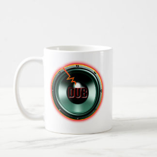 DUB RED HOT WOOFER t-shirts Basic White Mug