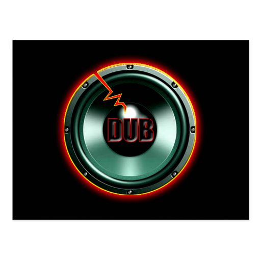 DUB RED HOT WOOFER t-shirts Post Cards