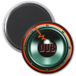 DUB RED HOT WOOFER t-shirts Refrigerator Magnet