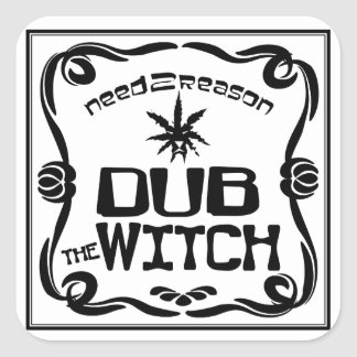 Dub the Witch Square Sticker