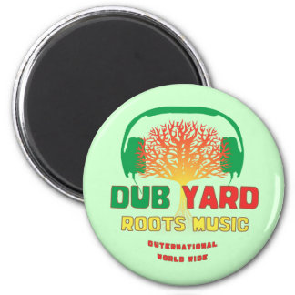 Dub Yard Roots Music 6 Cm Round Magnet