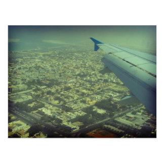 Dubai bird eye view, Dubai from the air Postcard