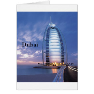 Dubai Burj Al Arab Hotel (by St.K) Card