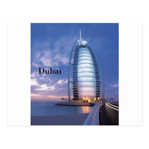 Dubai Burj Al Arab Hotel (by St.K) Post Card