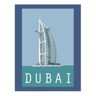 Dubai Burj al Arab Postcard