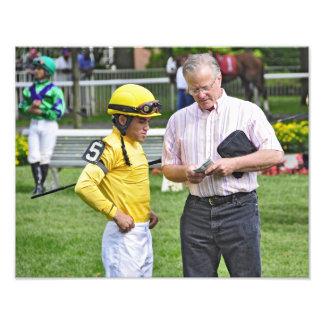 Dubai Derby winning jockey Joel Rosario Art Photo