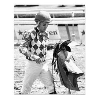 Dubai Derby winning jockey Joel Rosario Photograph
