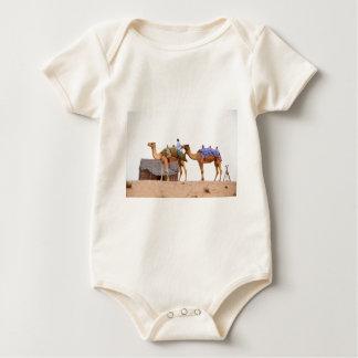 Dubai desert baby bodysuit