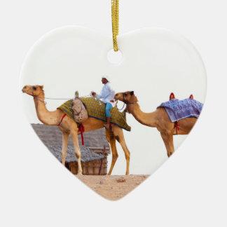 Dubai desert christmas ornament