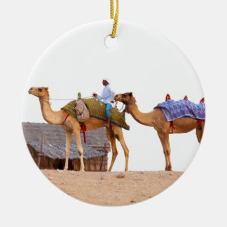 Dubai desert christmas ornament