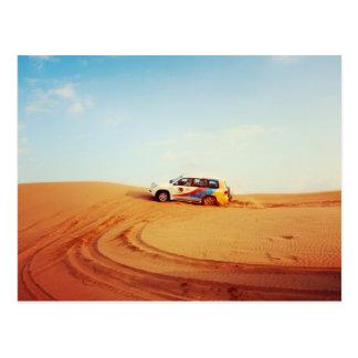 Dubai Desert Cruise Postcard