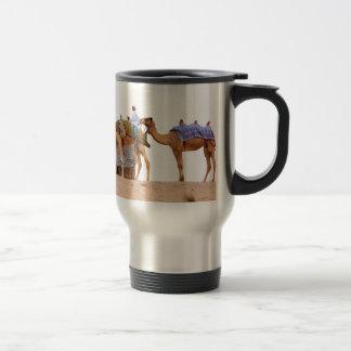 Dubai desert stainless steel travel mug