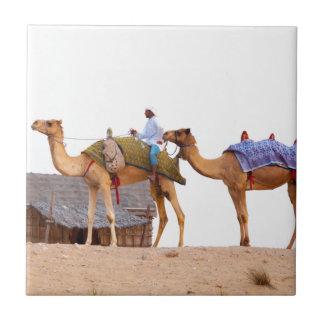 Dubai desert small square tile