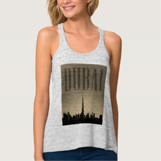 Dubai graphic image illustration tank top
