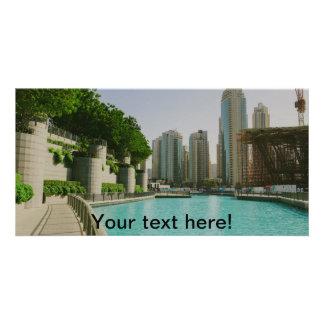 Dubai Personalised Photo Card