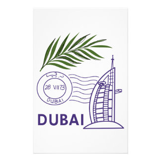 Dubai Personalized Stationery
