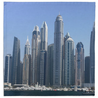 Dubai Sky Line Napkin