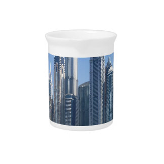 Dubai Sky Line Pitcher