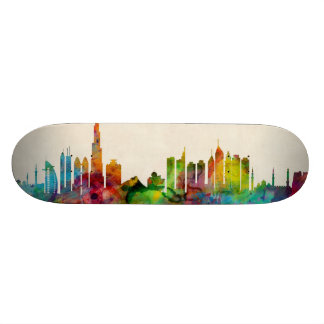 Dubai Skyline 19.7 Cm Skateboard Deck