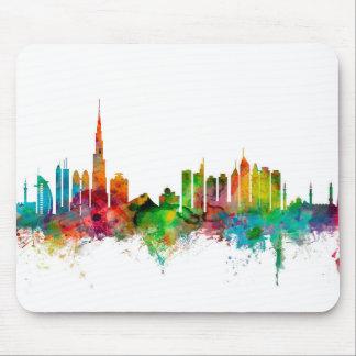Dubai Skyline Mouse Mat
