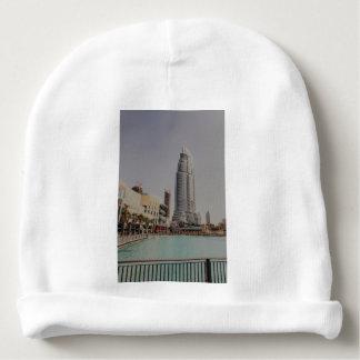 Dubai skyscarpper near Dubai mall Baby Beanie