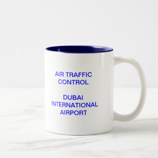 Dubai Tower Two-Tone Coffee Mug