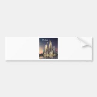 dubai Towers (by St.K) Car Bumper Sticker