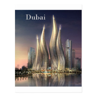 dubai Towers (by St.K) Postcard
