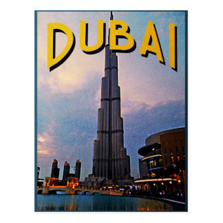 Dubai Travel Postcard