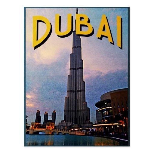 Dubai Travel Postcards