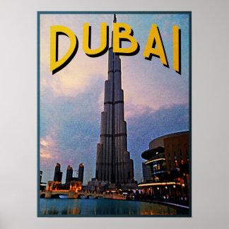 Dubai Travel Posters