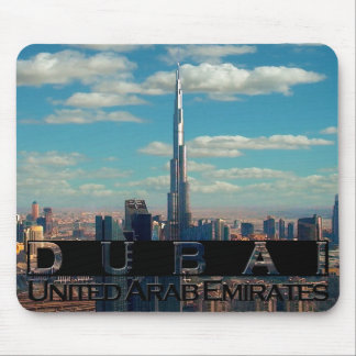 Dubai UAE Souvenir Mousepad