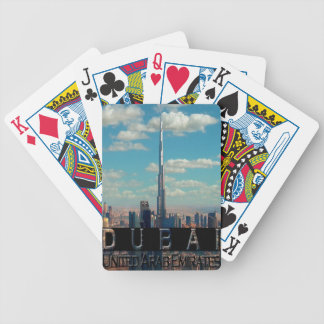 Dubai UAE Souvenir Poker Deck
