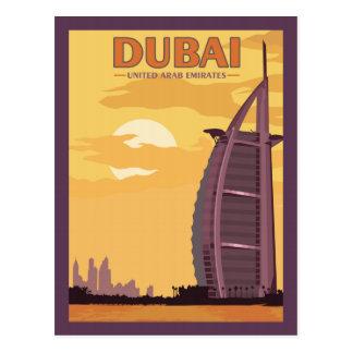 Dubai UAE - Vintage Travel Postcard