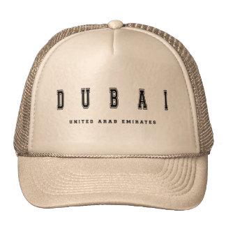 Dubai United Arab Emirates Cap