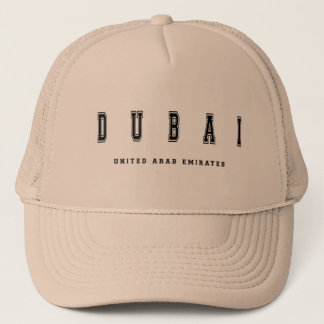 Dubai United Arab Emirates Trucker Hat