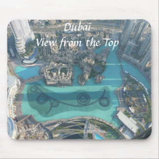 Dubai. View from the top. Mouse Pad