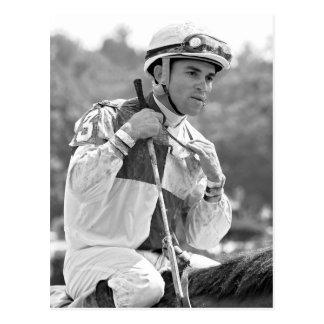 Dubai World Cup winning  jockey Joel  Rosario Post Cards